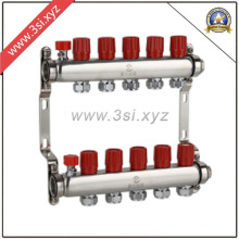 Quality Floor Heating Water Segregator with Gauge (YZF-1011)