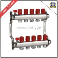 Separador de água para aquecimento de piso com medidor (YZF-M814)