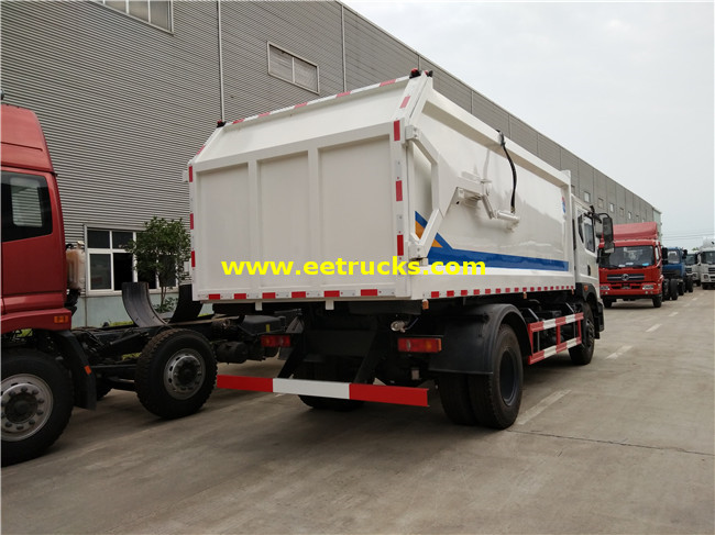 10 CBM Garbage Compression Trucks