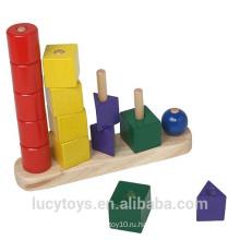 Деревянная геометрическая игрушка для продажи