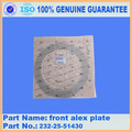GD625A-1 WA420-3 GD755-5R plaque alex avant 232-25-51430
