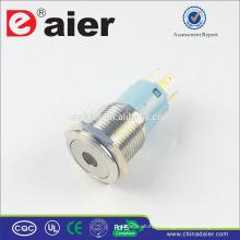 Daier LAS3-16F-11D Dot Interrupteur Bouton-poussoir En Métal Illuminé