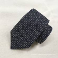 Wholesale Oem Quality Black Polka Neat Fashion Woven Ties 100% Silk