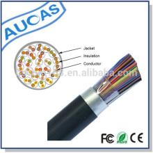 CE RoHS 100 Paar unterirdische Gelee gefüllte Telefonkabel oder Multi-Paar Telefon Kabel Fabrik Preis