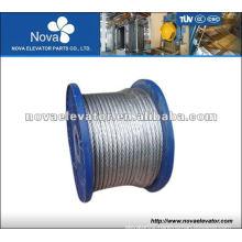 8*19S+Fc Elevator Rope, Elevator Wire Rope, Elevator Parts