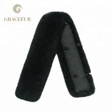 Best supplier real fur collar detachable