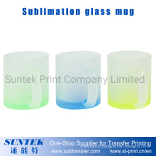 Sublimation 11oz Color Frosted Glass