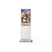 IR touch Screen 1080P wireless wifi 43 inch Digital signage advertising machine with windows system