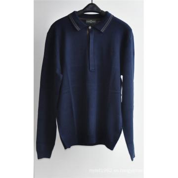 De manga larga jersey jersey de punto para los hombres