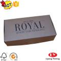 Cheap kraft one piece folding packaging box