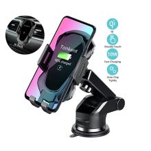 Беспроводное автомобильное зарядное устройство Auto Clamping Car Charger Mount