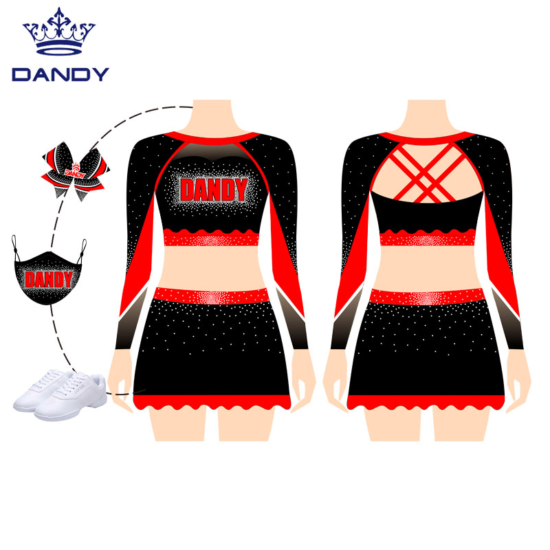 professional cheerleading outfits
