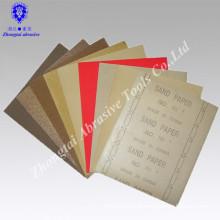 9''x11'' quartz wood sandpaper