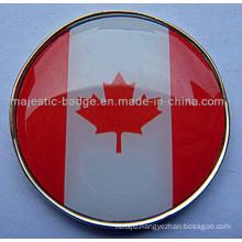 National Flag Sign Marker (MJ-Golfball Marker-049)