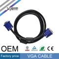 SIPU 3 + 6 cable VGA 15pin macho a macho HD VGA Cable 1.5M 3M 5M 10M 15M para monitor HDTV PC proyector