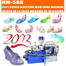 Machine de moulage par injection à chaussures de gelée à rotor rotatif automatique