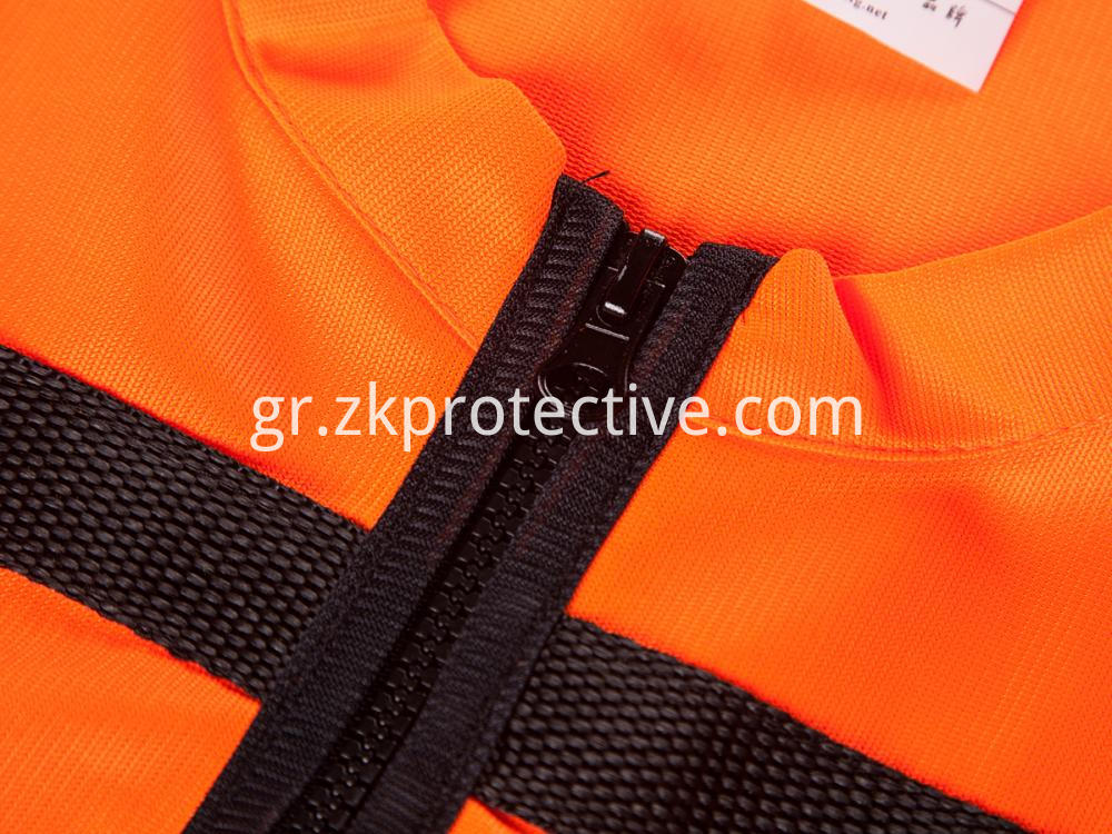 Safety Vest Zipper