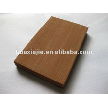 WPC outdoor brushed&wood grain decking