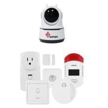 Wireless Smart home alarm cctv system 1080P
