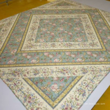 printed Quilting with the spray-bonded cotton filler