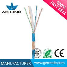 Conexão de cabo de rede padrão internacional ftp