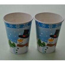 8oz Christmas Cold and Hot Paper Cups Disposable