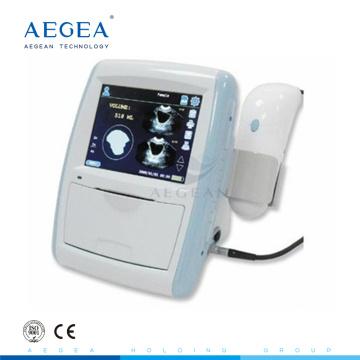 Precio portable de la máquina del ultrasonido del hospital del costo bajo de la energía AG-PC001