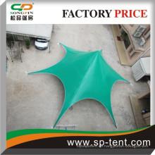 Grünes Sternformzelt / großes Ereigniszelt / Festzeltzelt