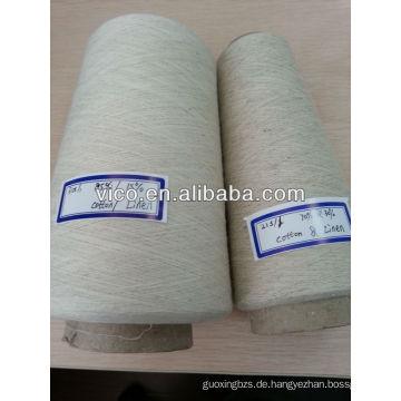 Leinengarn oder Baumwoll / Leinengarn