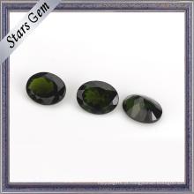 Qualidade maravilhosa verde-esmeralda Natural Diopside Gemstone