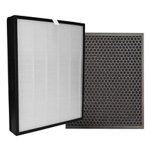 330x280x30mm air purifer hepa customized activated carbon filters replacement 13 hepa filter