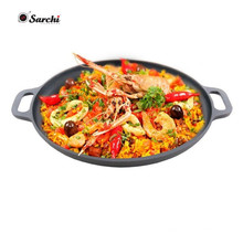 Home Complete 14 inch Cast Iron Pizza Pan