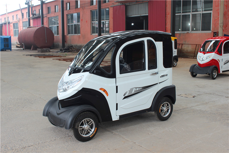 back Huajiang Four-Wheel Electric Car
