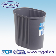 Open top plastic mini garbage can