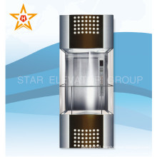 Fast Production Luxury Panoramic Glass Commercial Elevator in China