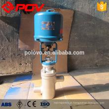 válvula de regulagem de luva elétrica com tipo eletrônico