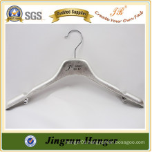 Nice Silver Plating Alibaba Supply Plastic Clothes Hanger for Jacket
