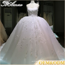dress women wedding for ladies High quality puffy lace wedding dress professional made big a line layered ball gown