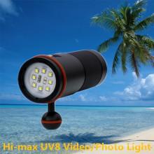 Fabrik Versorgung LED Weitwinkel beste Unterwasser-Fotografie Lampe