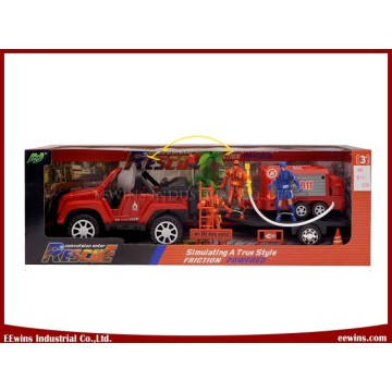Toys Car Sets Fire Control Tool Vehicle DIY Play Set