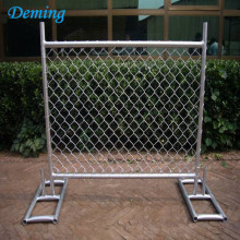 Hot Pvc Portable Dip Galvanized Used Temporary Fence