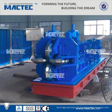 Norme européenne Haute qualité fendue glavanized 45 degrés angle fer faisant la machine