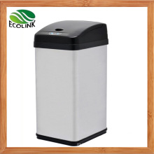 38L Stainless Steel Automatic Sensor Wastebin for Household