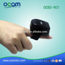 OCBS-R01 Support Bluetooth SPP mini ring wireless barcode scanner