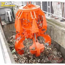 Motor-Hydraulic Garbage Orange Peel Grab