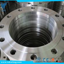 ASTM 4.0Mpa DN100 306 Aço inoxidável slip-on soldagem Flanges fabricados na China