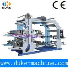 Machine d'impression flexographique à quatre couleurs (YT-600)