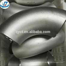 Cotovelo de tubo quadrado inoxidável AISI304 de 90 graus