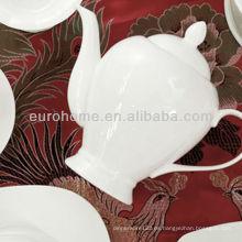 Hotel y restaurante 500ml, 1000ml tetera de cerámica, tetera de porcelana de café olla de porcelana de té