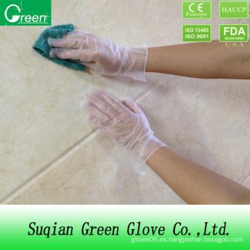 Guante de fábrica / guantes de vinilo de PVC desechables